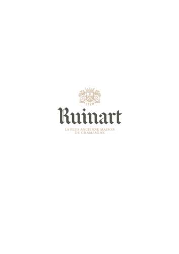 LOGO complet Ruinart gris or